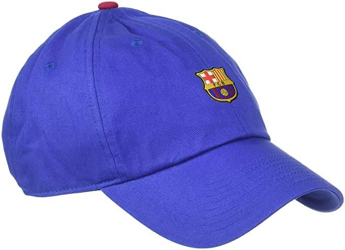 611ca903aa5 Amazon.com   Nike Unisex FC Barcelona Heritage86 Cap  DEEP Royal Blue   (MISC)   Sports   Outdoors