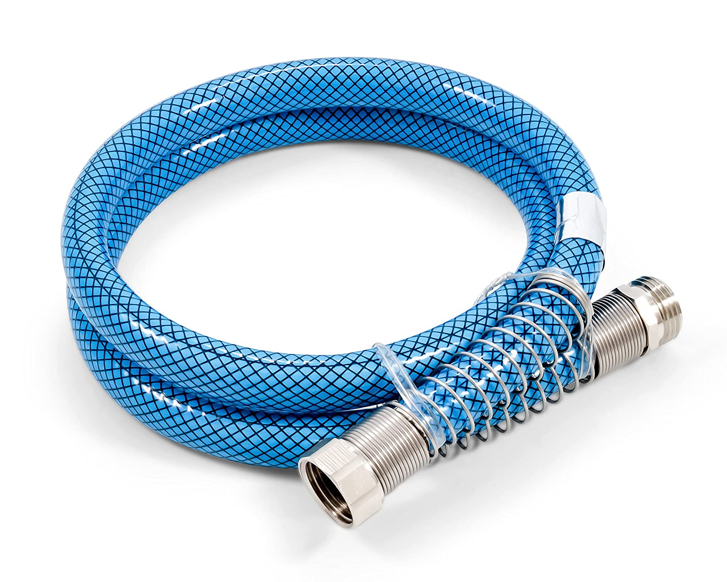 "Camco 22813 4ft Premium Drinking Water Hose - Lead and BPA Free, Anti-Kink Design, 20% Thicker Than Standard Hoses 5/8"" Inside Diameter, 4 Feet"