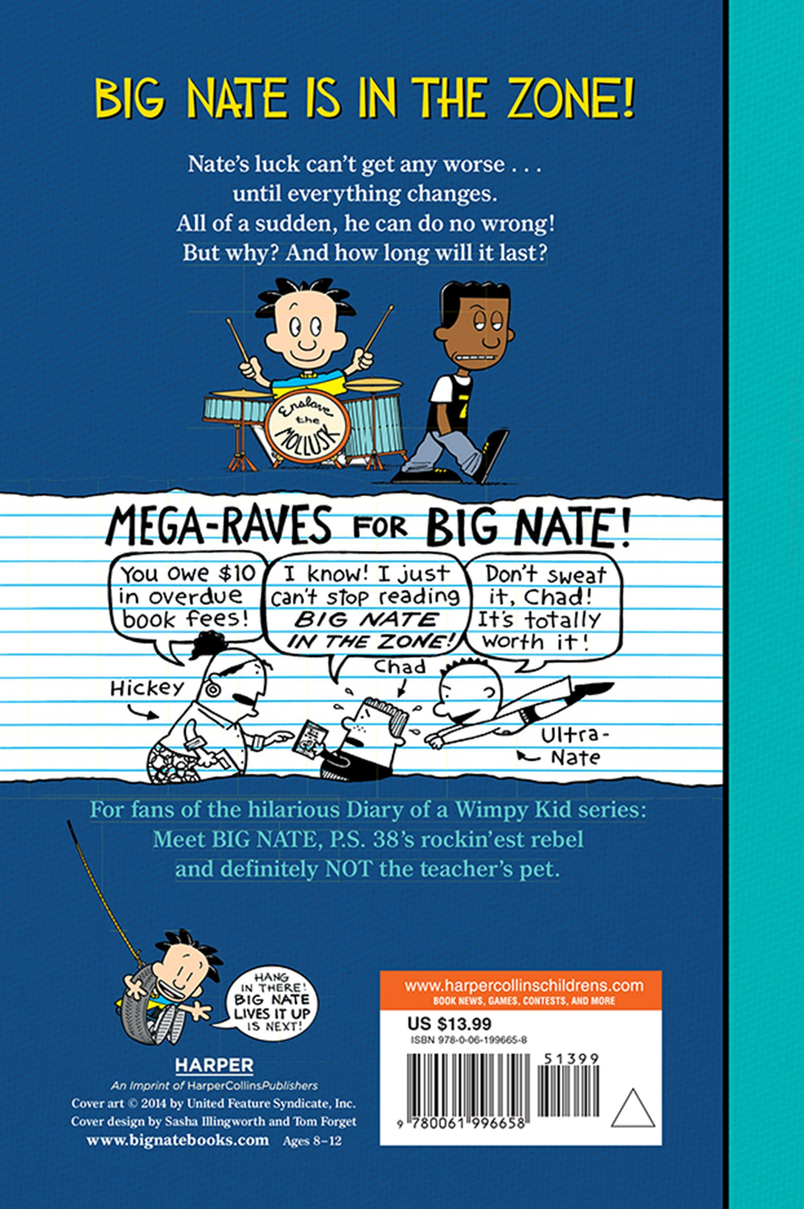 Big Nate: In the Zone by Harper Collins (Image #1)