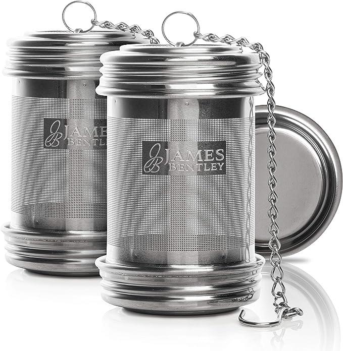 Bearded Collie 2inch Tea Ball Mesh Infuser Stainless Steel Sphere Strainer D14