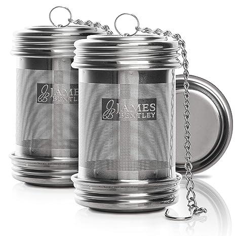 Amazon.com: Infusor de té para té suelto, paquete de 2 ...