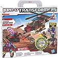 Kre-O - 369591480 - Jeu de Construction -Transformers - Police Hélicoptère