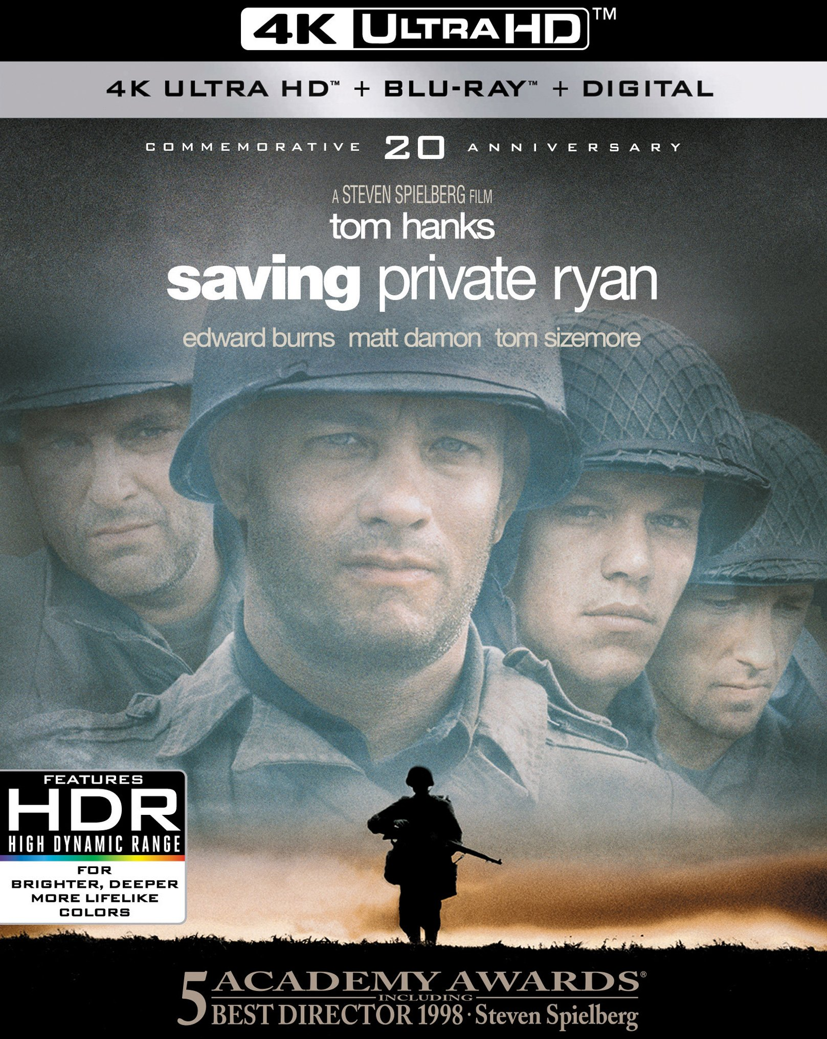 4K Blu-ray : Saving Private Ryan (With Blu-Ray, 4K Mastering, Widescreen, AC-3, Digital Theater System)