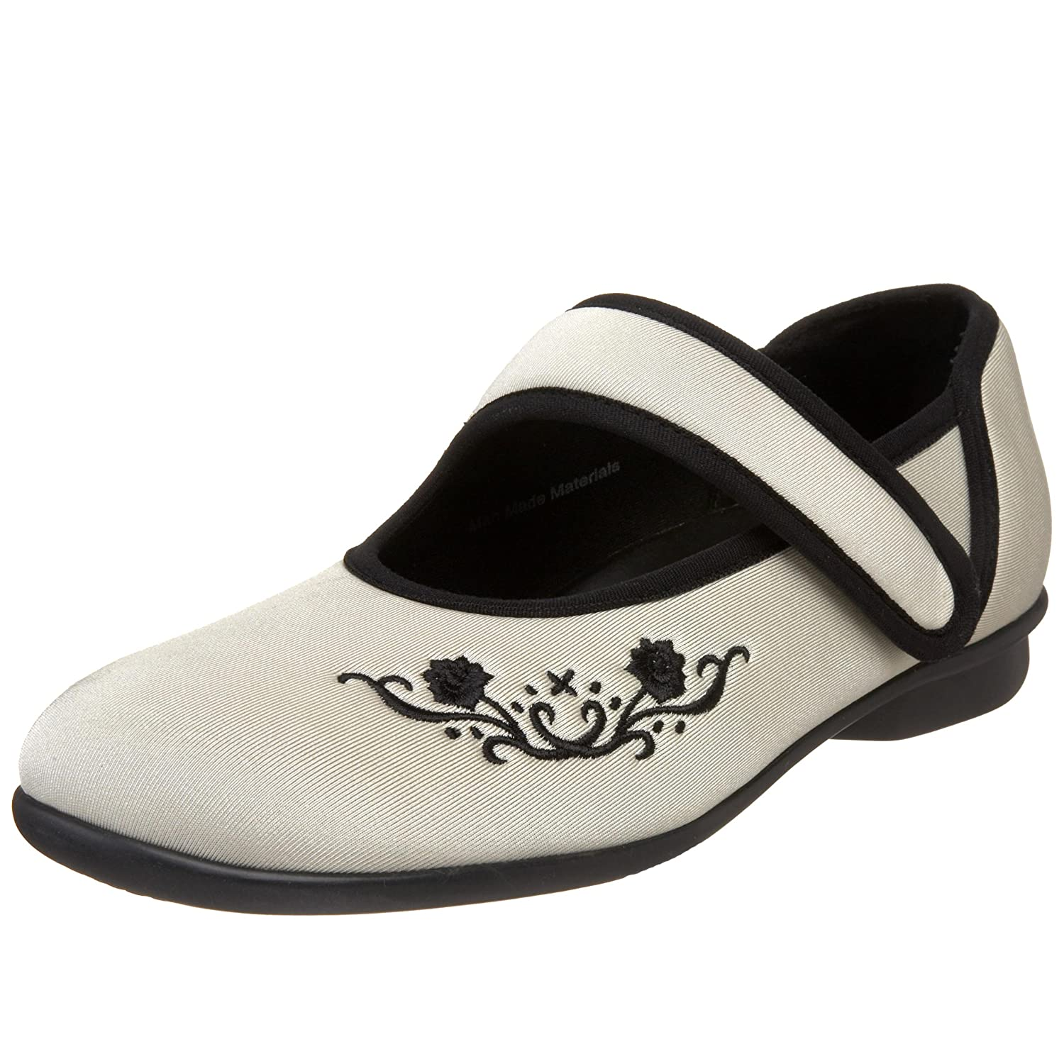Drew Shoe Women's Jada Mary Jane B002VPCK14 8.5 W US|Ivory Stretch
