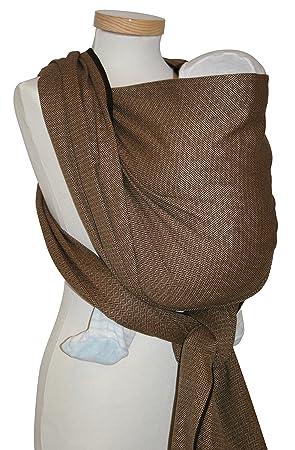 Echarpe de portage courte, Leo, taille 3.60M, coloris Café  Amazon ... 5ad98c539ce