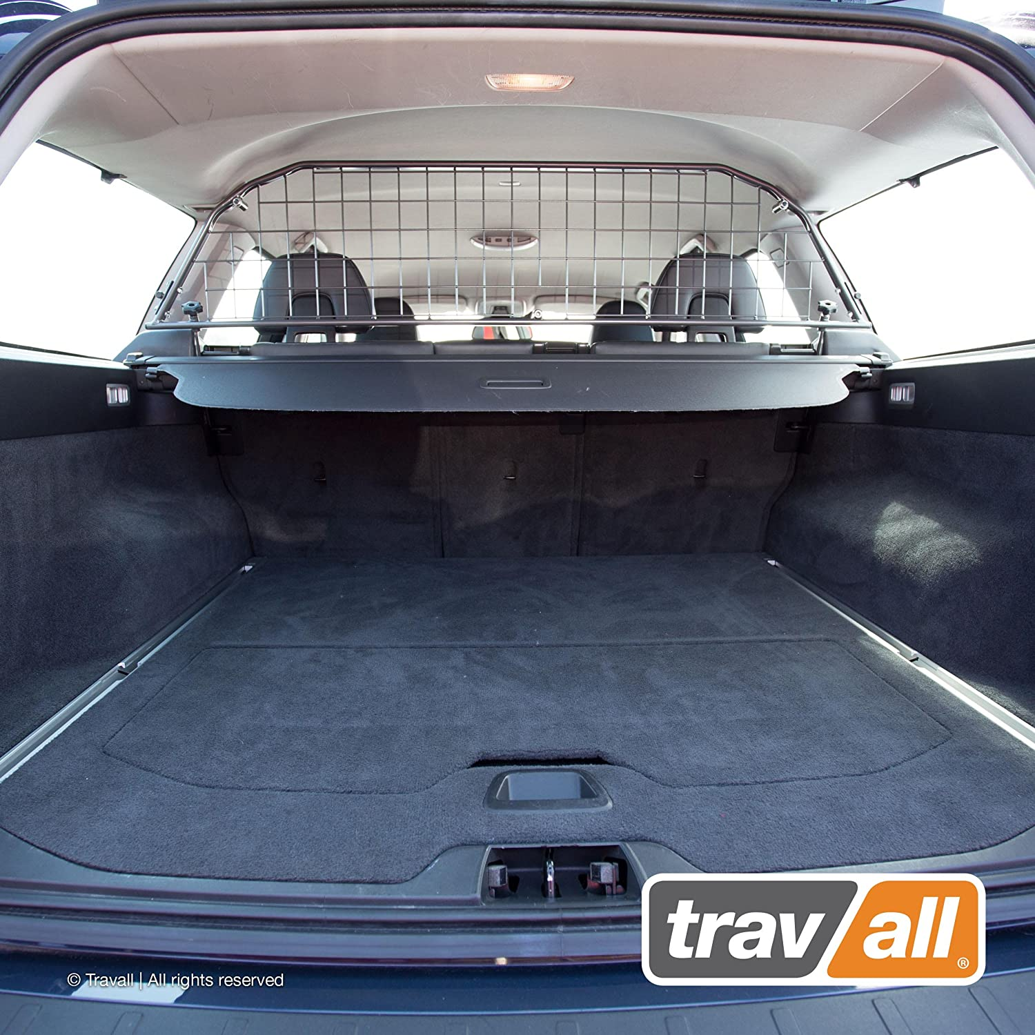 Travall Guard Compatible with Volvo V70 Wagon and XC70 2007-2016 TDG1203 – Rattle-Free Steel Pet Barrier