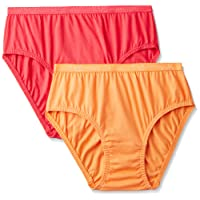 Jockey Women's Cotton Hipster (Color May Vary) - Pack of 2