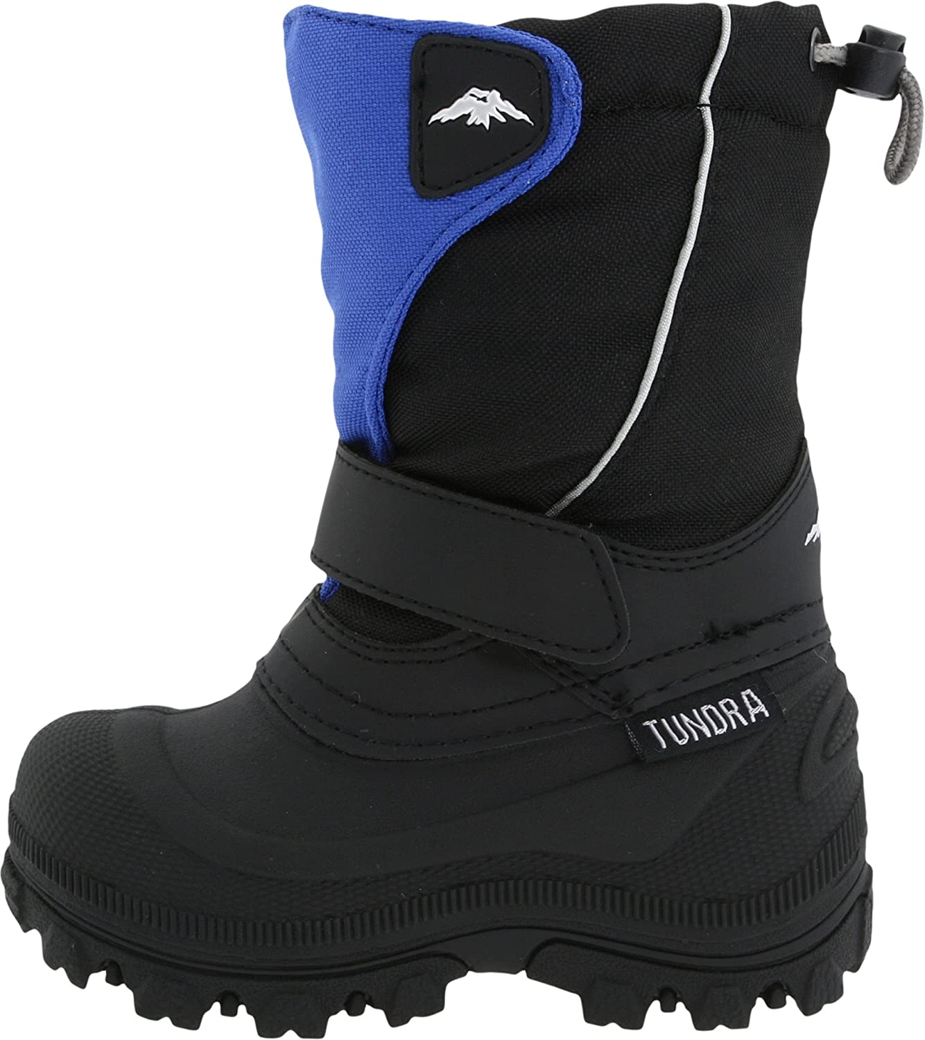 Tundra Quebec Child Winter Boots Black//Grey 1 M US Little Kid