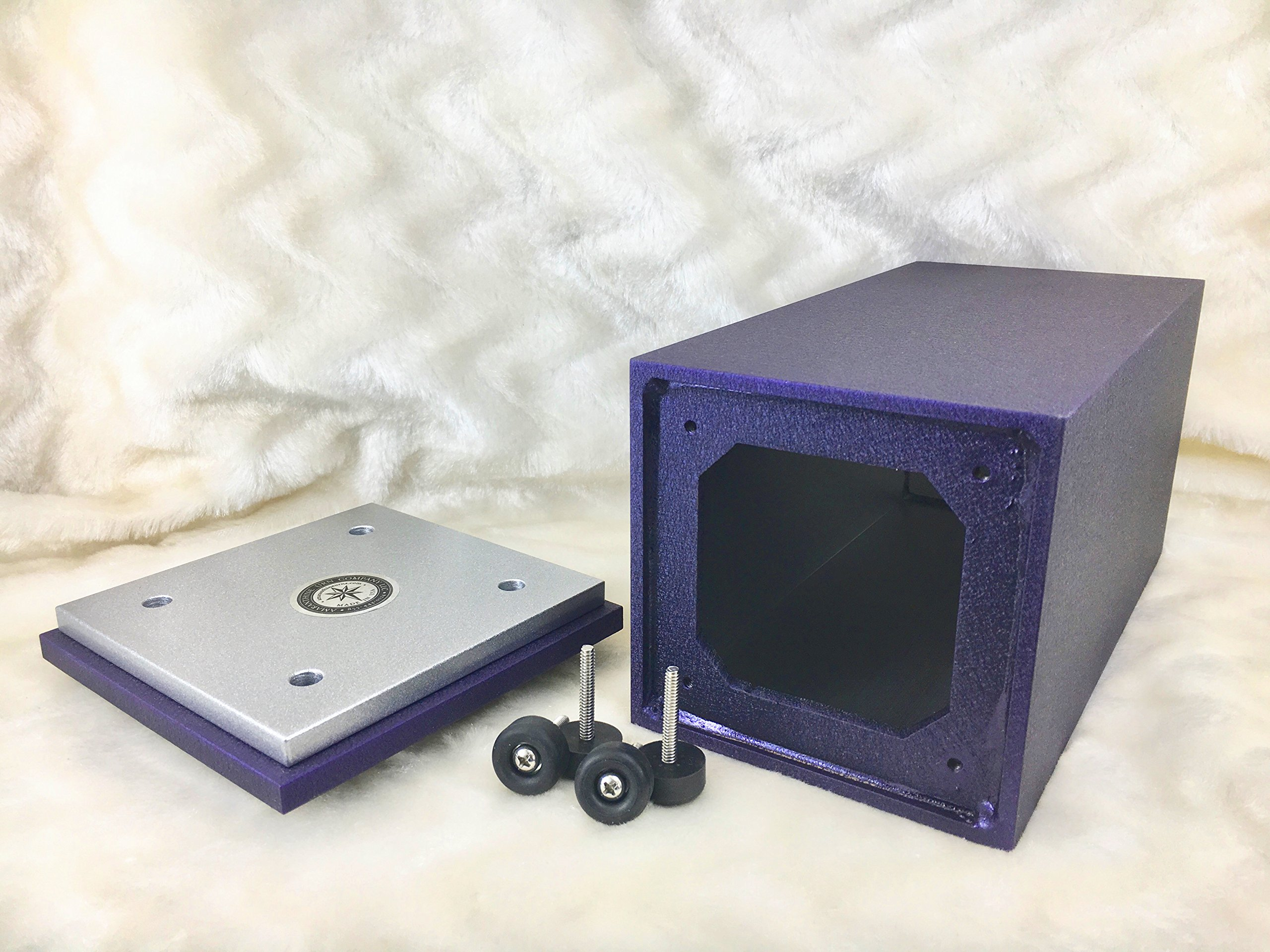 PERSONALIZED Engraved Butterfly Cremation Urn for Human Ashes-Made in America-Handcrafted in the USA by Amaranthine Urns (Adult Funeral Urn up to 200 lbs living weight) Eaton SE- (Purple Velvet) by Amaranthine Urn Company (Image #5)