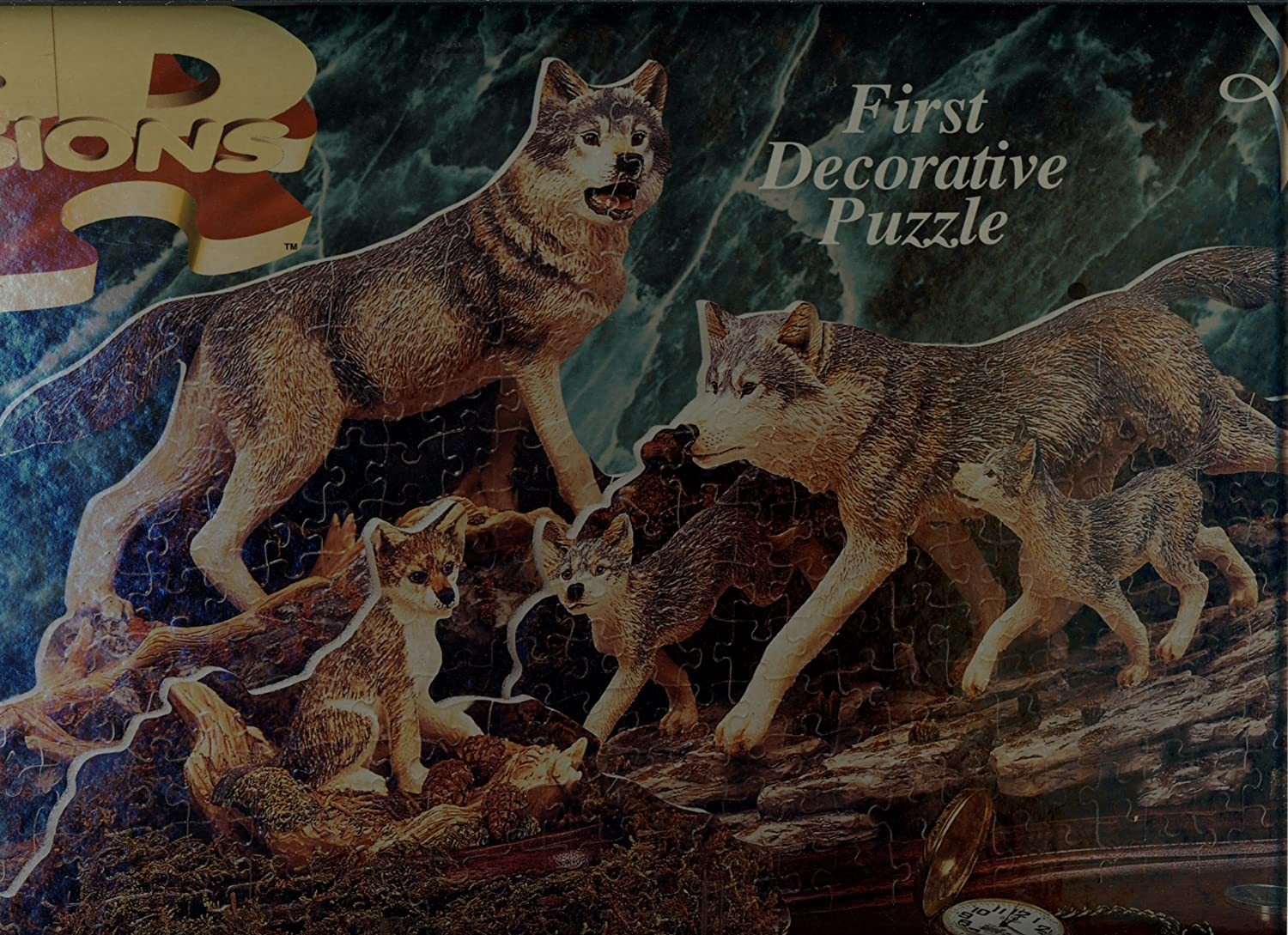 【25%OFF】 3D Visions 500 Piece Decorative B0054PMR98 Puzzle 3D - Spirit Piece of the Wolf B0054PMR98, ジャングル ジャングル:572cb099 --- quiltersinfo.yarnslave.com