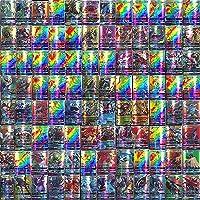 Pokémon GX Pokémon-verzamelkaartenset met 50 GX 20 Mega 10 Trainer 20 Pokémonkaarten energie (50+20+10)