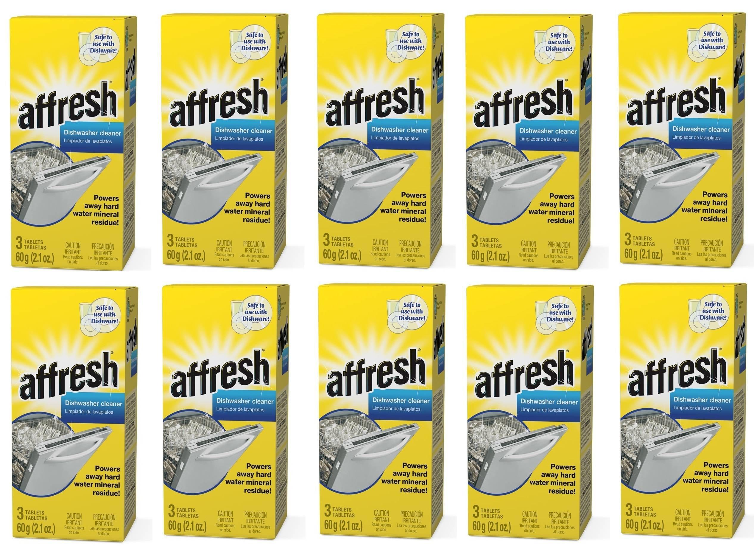 Affresh W10549850 Dishwasher Cleaner GxqnJf, 30 Tablets in Carton