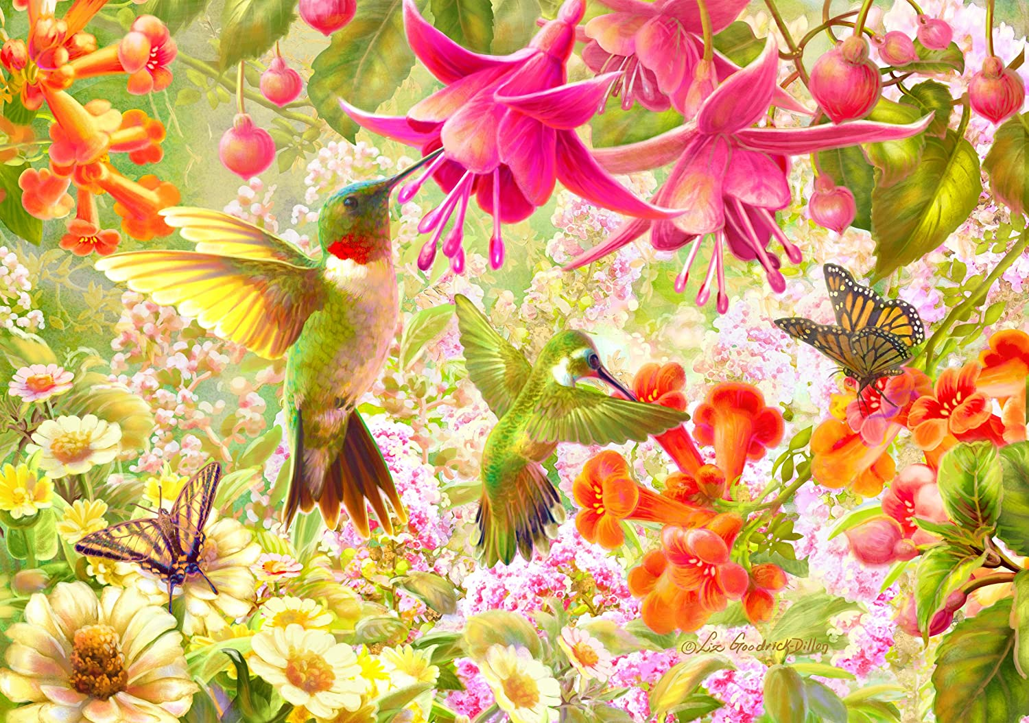 250pc Wentworth Wooden Jigsaw Puzzles - Hummingbird 250pc Wentworth Garden Hummingbird B079VM28JL, 着物なごみや:e9a4f2fe --- ero-shop-kupidon.ru