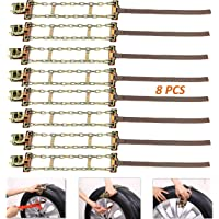 8-Pack FUN-DRIVING Tire Snow Chains