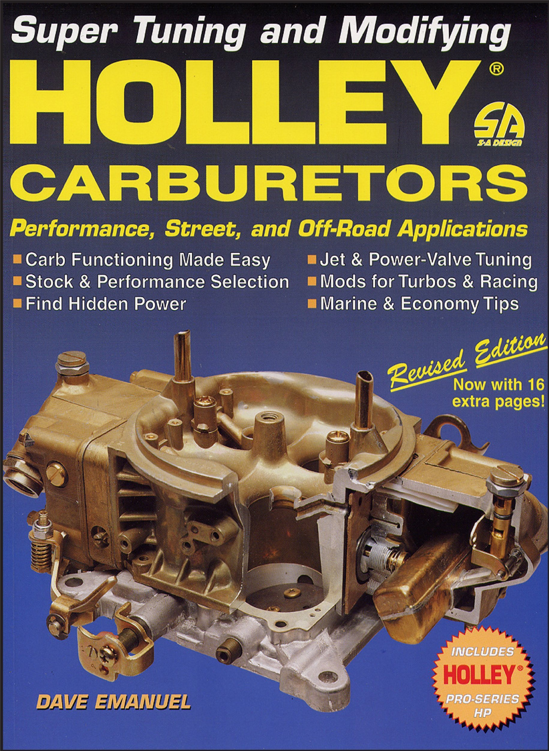 Holley carburetors dave emanuel 9781884089282 amazon books fandeluxe