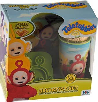 Teletubbies easter gift set chocolate egg plate bowl beaker teletubbies easter gift set chocolate egg plate bowl beaker toast stamper negle Gallery