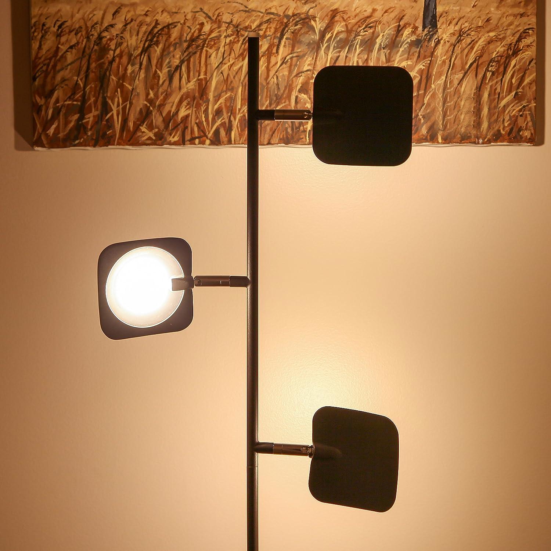 Brightech Tree Spotlight LED Floor Lamp - Very Bright Reading, Craft ...