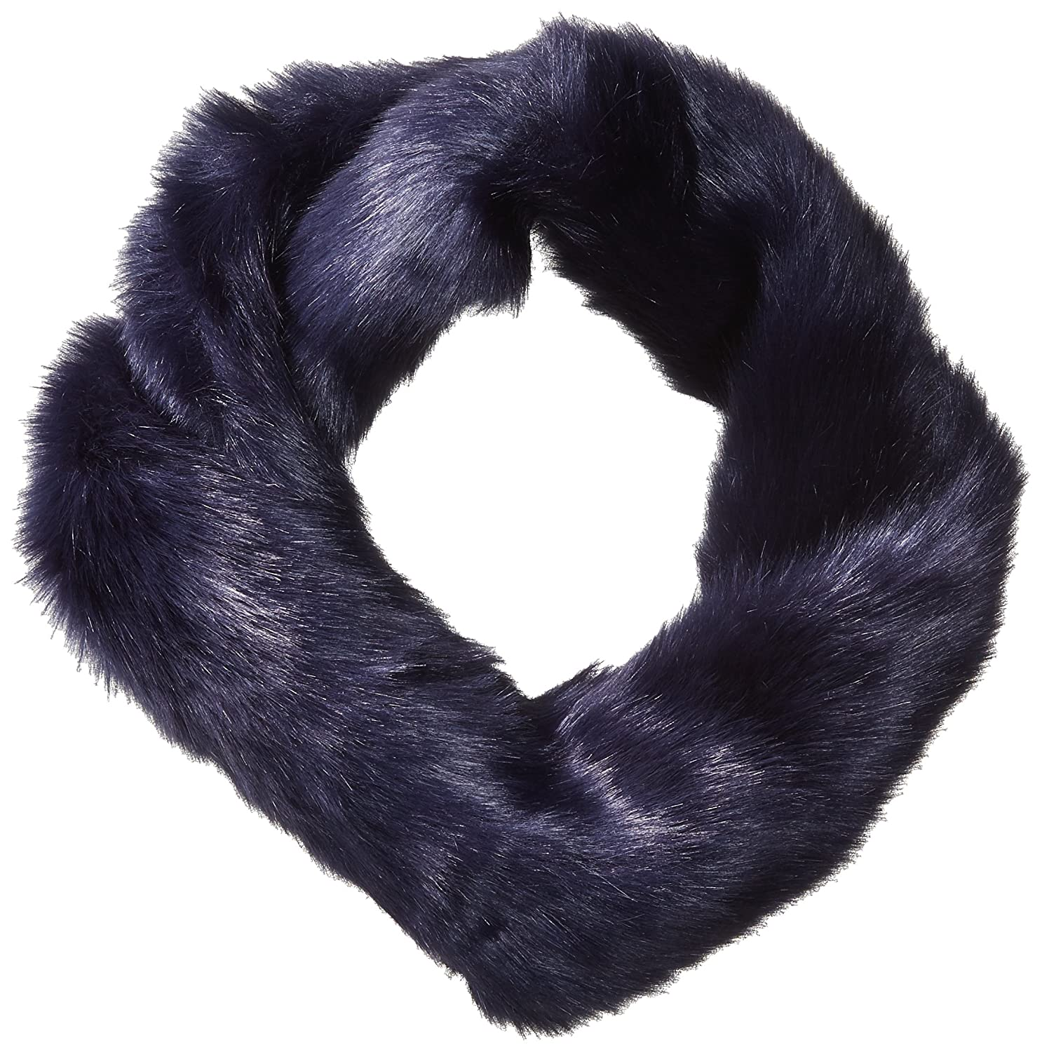 French Connection Women's Verda Fur Snood nocturnal O/S SSIBU