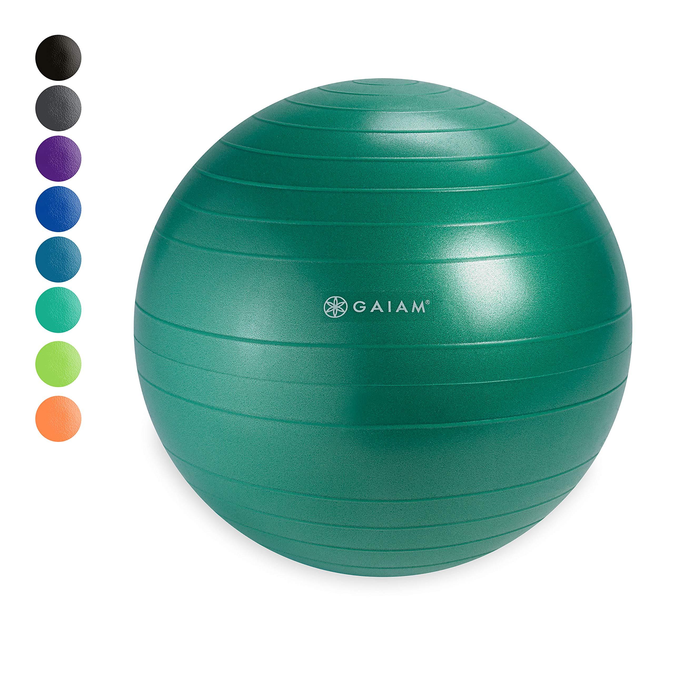 Gaiam Classic Balance Ball Chair Ball - Extra 52cm Balance Ball for Classic Balance Ball Chairs, Green