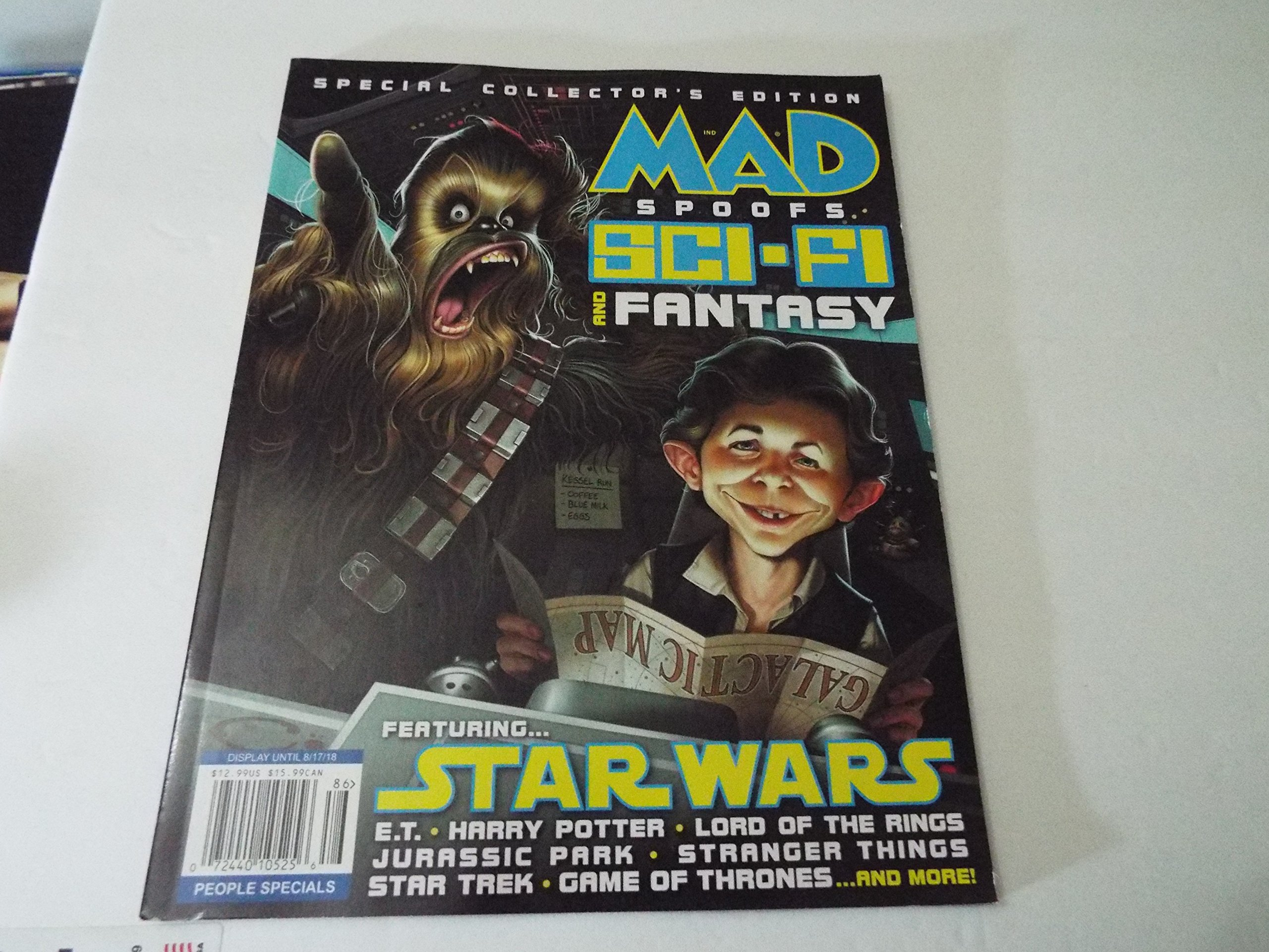 Read Online Mad Magazine Spoofs Sci-Fi and Fantasy Featuring Star Wars ebook