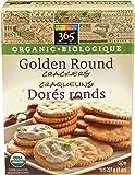 365 Everyday Value, Organic Golden Round Crackers, 8 oz
