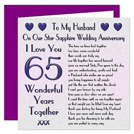 65 Anniversario Di Matrimonio.My Marito Per Anniversario Di Matrimonio On Our