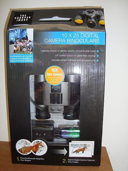 Amazoncom Sharper Image 10 X 25 Digital Camera Binoculars