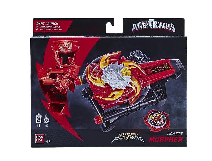 Power Rangers 43900 Super Ninja Figura Morpher de León de Acero