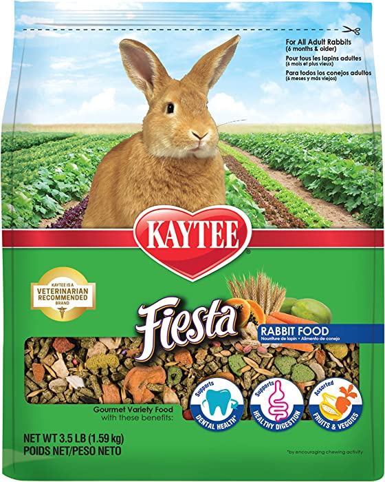 The Best Kaytee Fiesta Rabbit Food 35