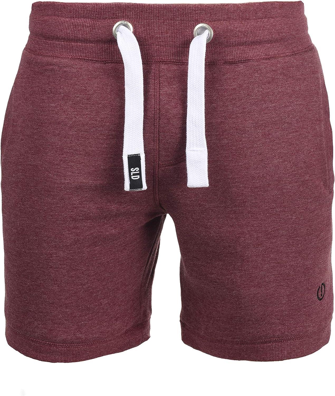 !Solid BennShorts Pantalón Corto Chándal Sweat- Bermudas para Hombre con Forro Polar Suave Al Tacto