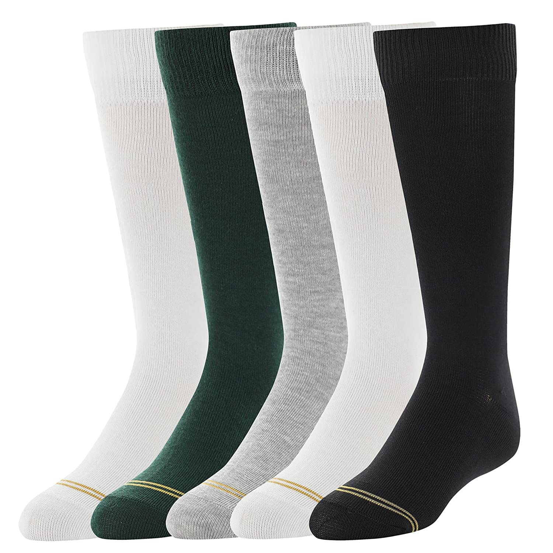 Gold Toe Girls Knee High Socks 5 Pairs