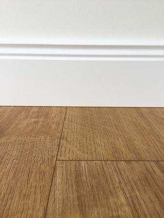 PVC-Bodenbelag Holzoptik Braun | Vinylboden in 4m Breite & 5m Länge ...