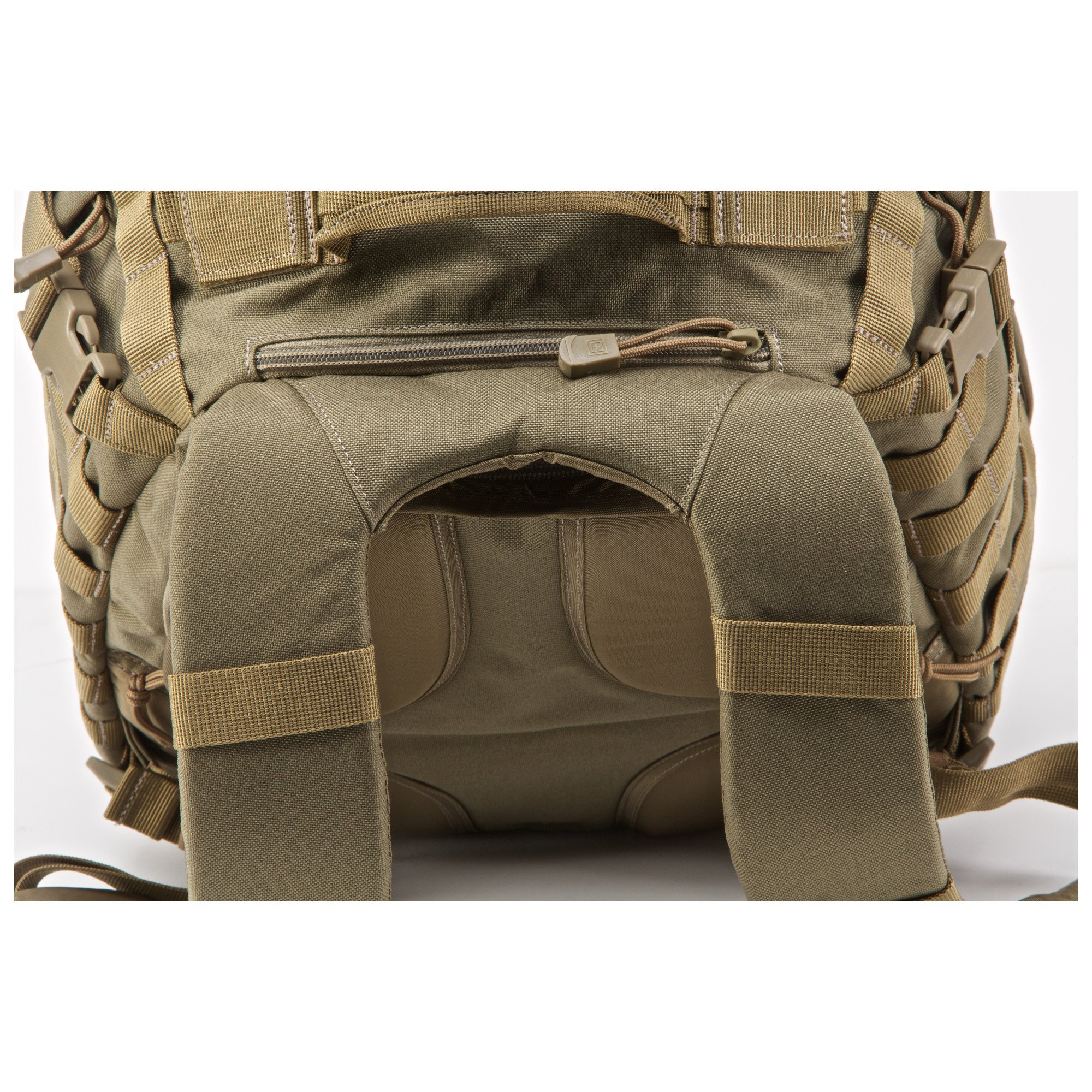 5.11 RUSH12 Tactical Military Assault Molle Backpack, Bug Out Rucksack Bag, Small, Style 56892, Sandstone by 5.11 (Image #7)