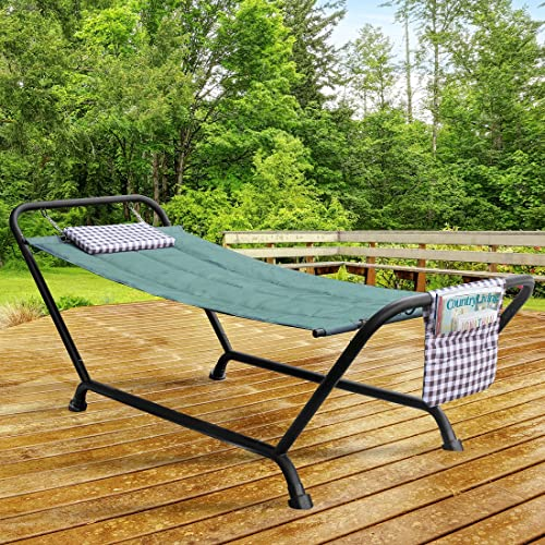 Sorbus Hammock Bed with Stand