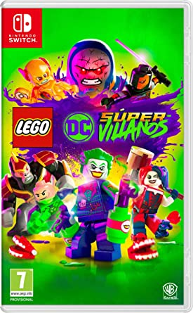 Lego DC Super-Villans Nintendo Switch, Edición Estándar: Amazon.es ...