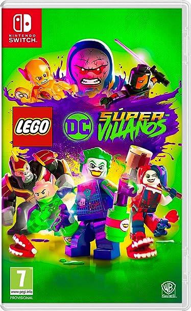 Lego DC Super-Villans Nintendo Switch, Edición Estándar: Amazon.es ...