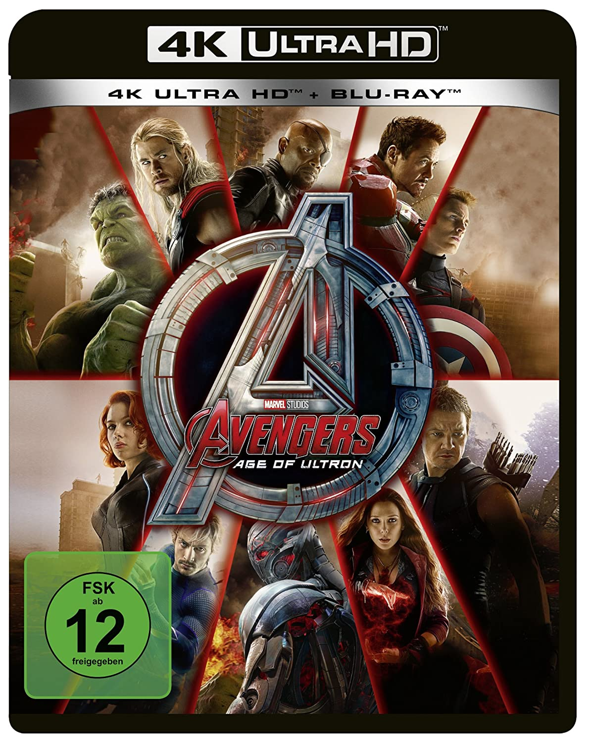 Marvels The Avengers - Age of Ultron 4K Ultra HD + Blu-ray 2D ...