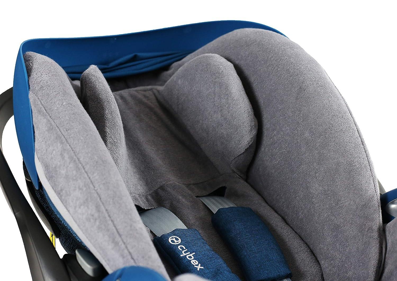 Sommerbezug Schonbezug Universal grau passend f/ür Cybex Cloud Z
