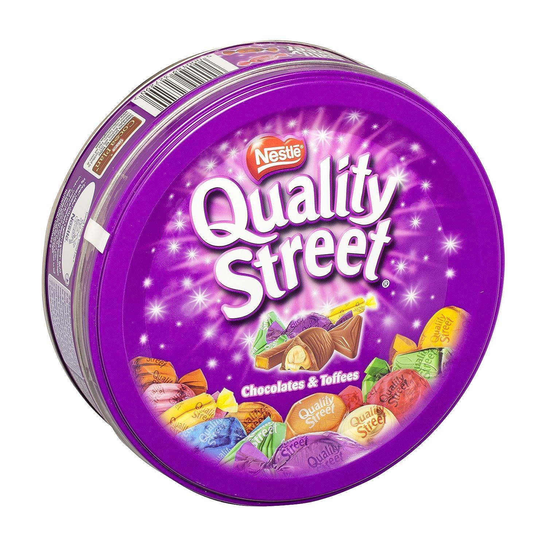 Amazon.com : Nestle - Quality Street Round Tin - 480g : Chocolate ...