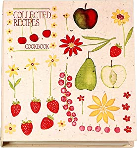 Meadowsweet Kitchens Recipe Card Cookbook Binder Organizer - Fruit 'n' Flowers