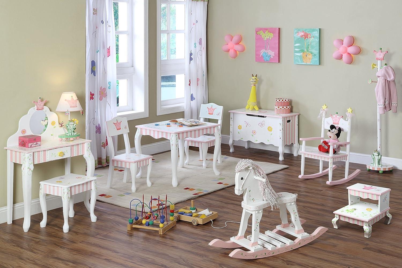 Princess And The Frog Bedroom Decor Amazoncom Teamson Kids Princess And Frog Room Collection Girls
