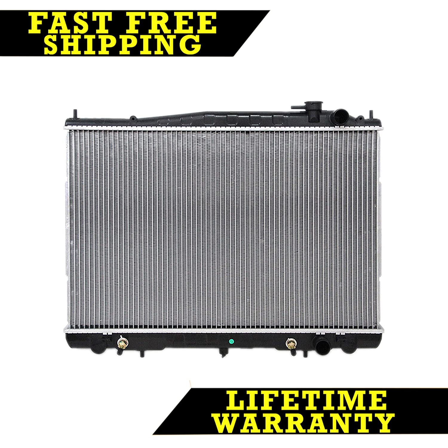 RADIATOR FOR NISSAN FITS XTERRA FRONTIER 2.4 3.3 L4 4CYL V6 6CYL 2215 Sunbelt Radiators
