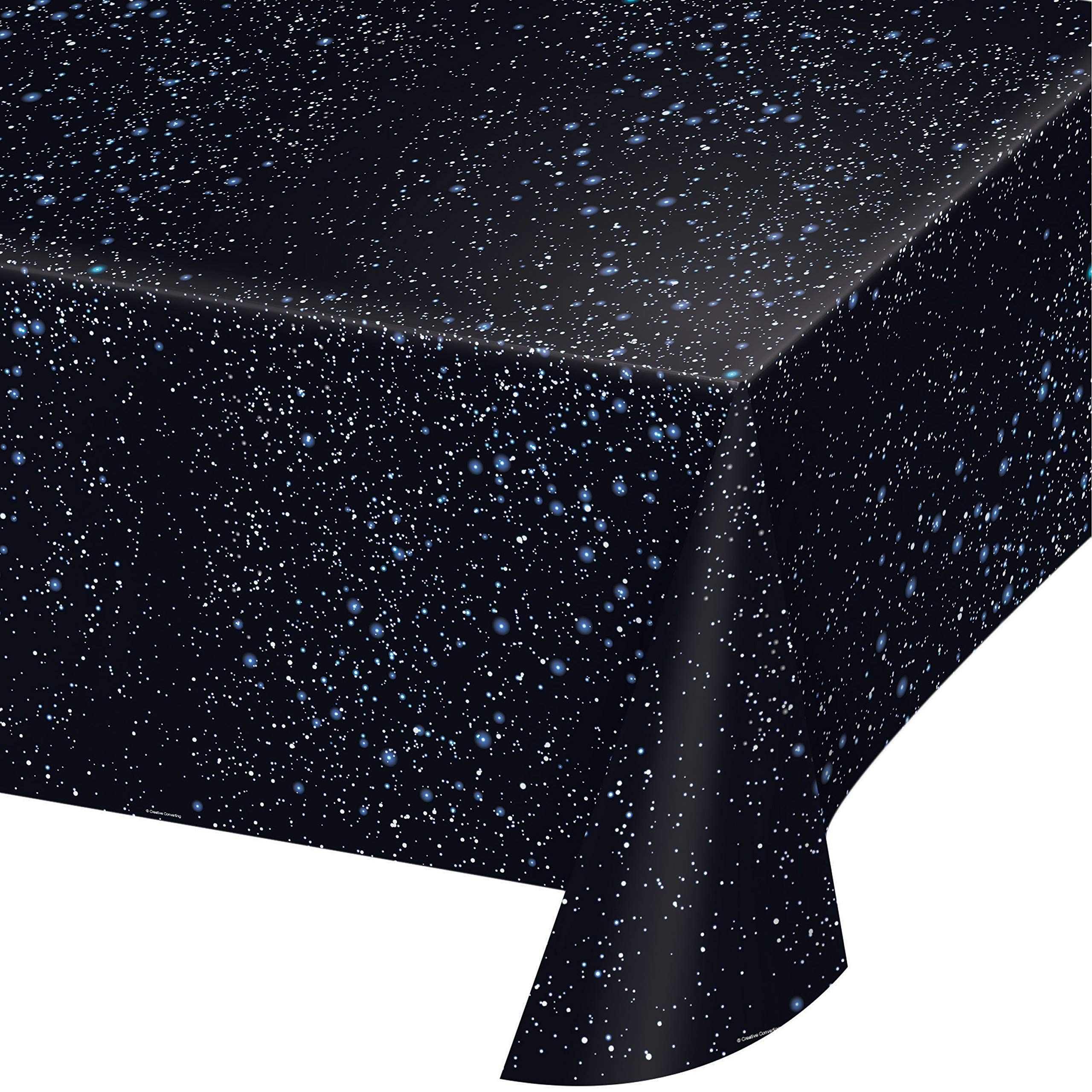 Space Blast Plastic Tablecloths, 3 ct by Creative Converting