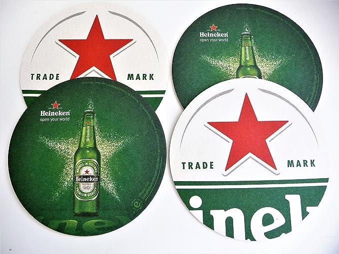 Amazon.com: Heinken Red Star Bottle Opener/Key Chain and Coaster Set: Kitchen & Dining