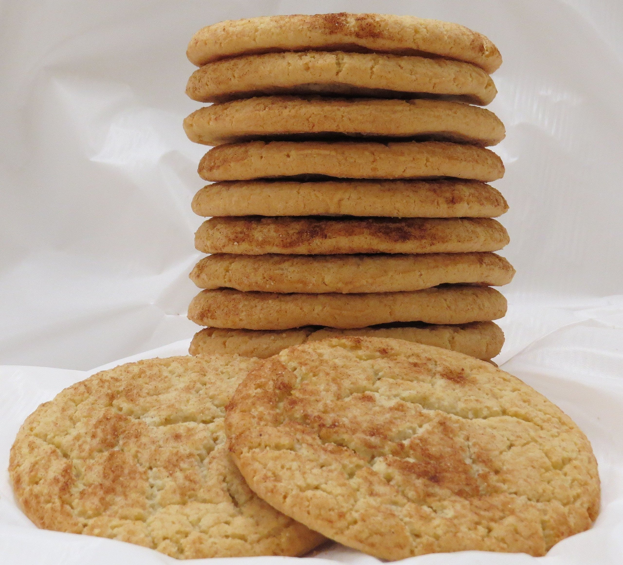 Homemade Snickerdoodle Cookies - 1 Dozen by Bread Box Bakery & Café - Shipshewana, Indiana