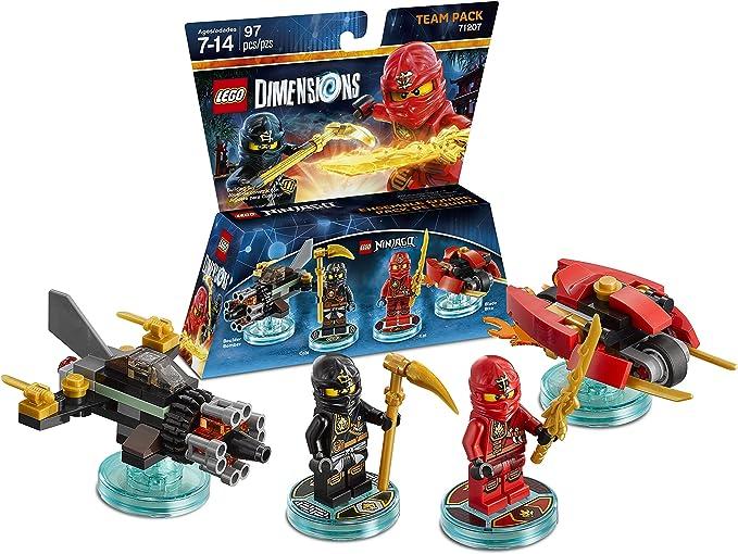 LEGO Dimensions, Ninjago Team Pack by Warner Home Video - Games: Amazon.es: Juguetes y juegos