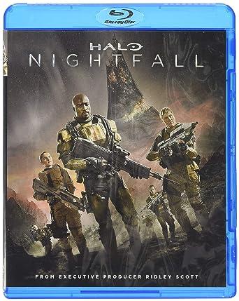 Amazon Com Halo Nightfall Blu Ray Movies Tv