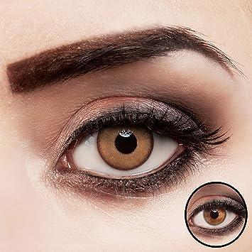 bis zu 80% sparen limitierte Anzahl Großhandelsverkauf Farbig braune Kontaktlinsen für dunkle Augen natürlich farbige Jahreslinsen  hellbraun