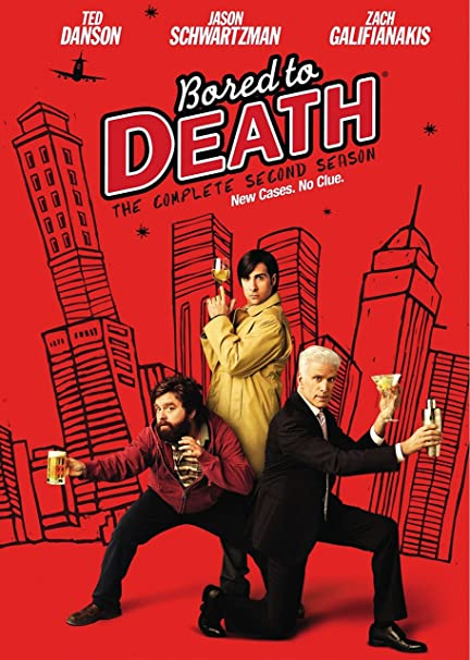 Amazon Com Bored To Death Season 2 Jason Schwartzman Zach Galifianakis Ted Danson Movies Tv