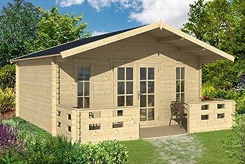 Gartenhaus München 500 X 450 Cm Gerätehaus Blockhaus Amazonde Garten
